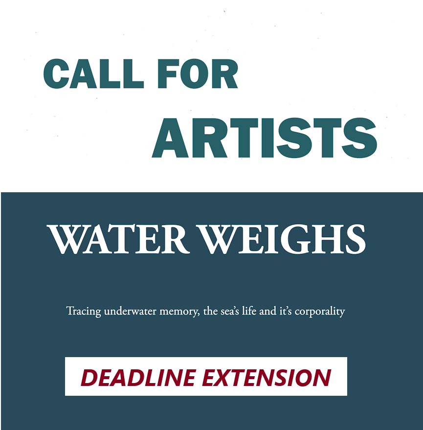 Call for artists deadline extended