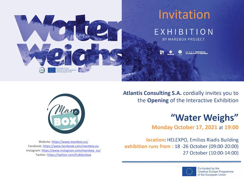 Water Weighs - Invitation